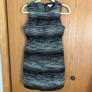 Dresses & Skirts - Black and White Structured Dress NWOT